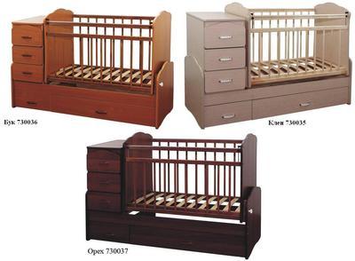 Кроватка-трансформер детская своими руками