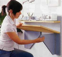 Сделать откидной столик своими руками