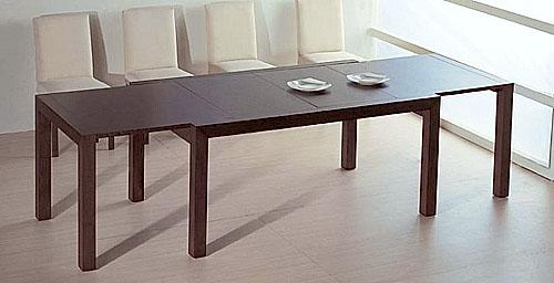 Деревянный стол для кухни раздвижной