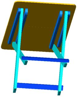 Как сделать стул для обуви