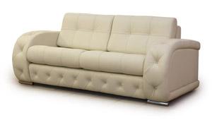 Ремонт и обивка кожаного дивана с пуговицами - Мебель трансформер