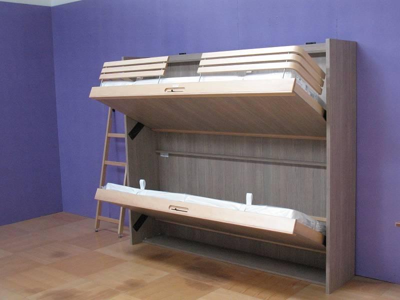 Как сделать кровать шкафом