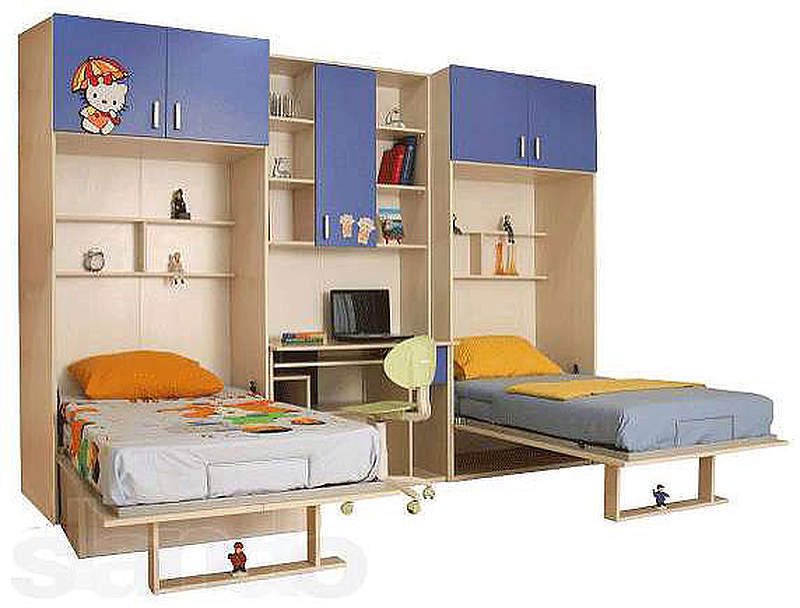Вашего кровать трансформер для детской комнаты чему снится бомж