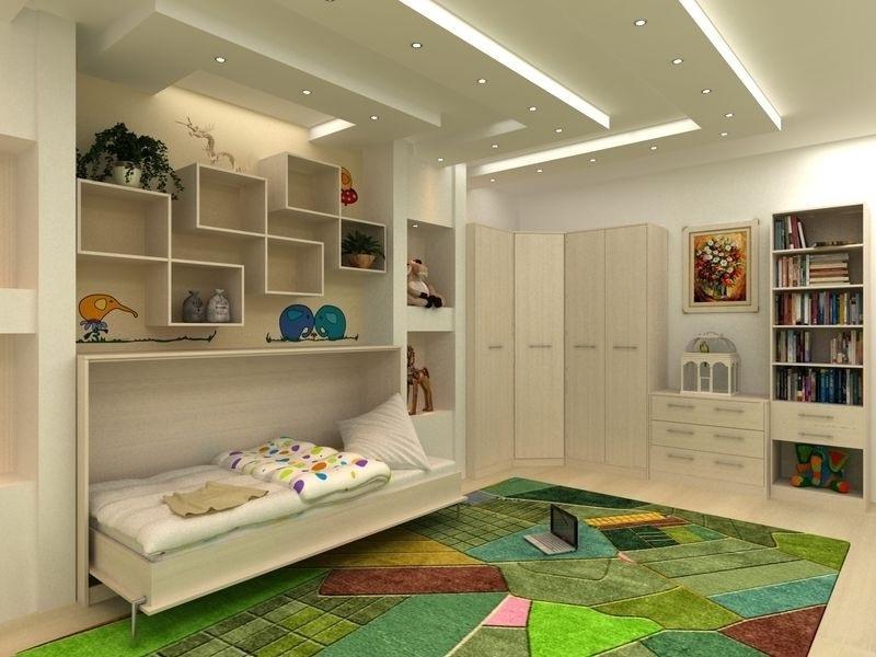 Встроенные шкафы в детскую своими руками