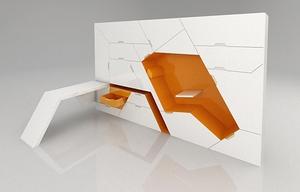 Мебельные системы-трансформеры для спальной комнаты