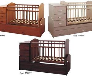 детская кроватка трансформер маятник