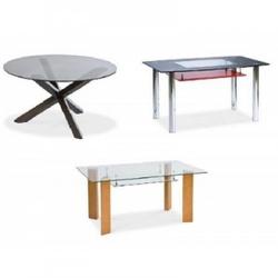Стеклянные столы трансформеры