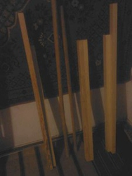Бруски для изготовления раскладного кресла