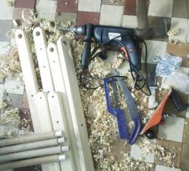 Инструмент для изготоления раскладного кресла