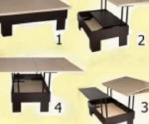 Мебель столы трансформеры