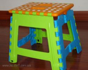 Детский пластиковый складной стул