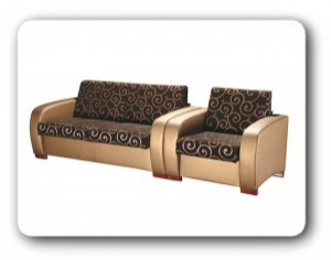 Раскладные диван и кресло кровать