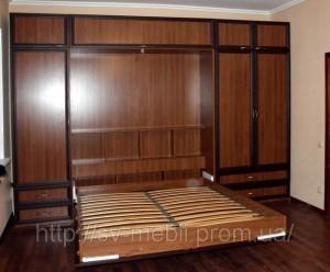 Шкаф кровать двуспальная
