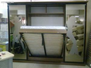 Шкаф купе с откидной кроватью