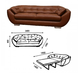 Раскладной офисный диван