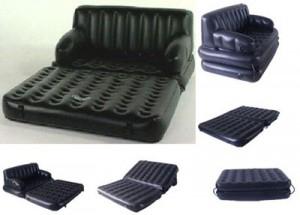 Кресло кровать надувное