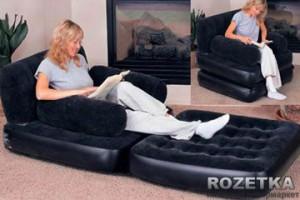 Надувное кресло трансформер