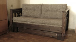 Диван кровать из сосны