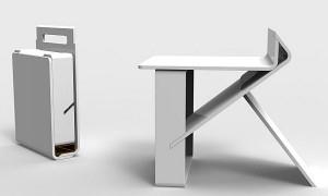 Компактный переносной стул трансформер
