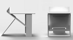 Компактный переносной стульчик трансформер