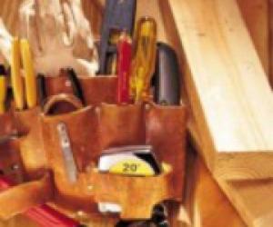 Инструмені для ремонта мебели