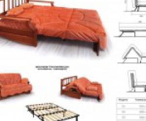 применение механизмов трансформации в мягкой мебели