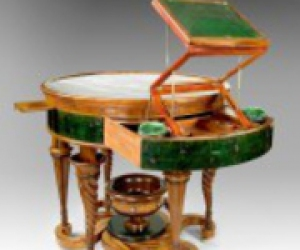 старинная мебель трансформер для рукодельниц