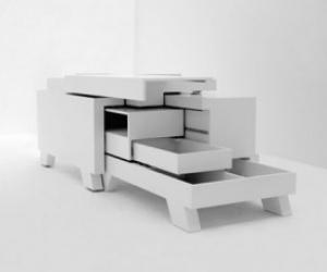стол трансформер от немецкого дизайнера Мартина Земмера
