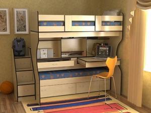 Трансформируемая мебель для детской комнаты