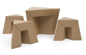 Картонная мебель трансформер