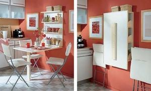 Увеличиваем пространство на кухне