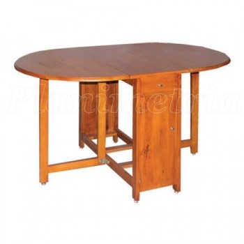 Деревянный раскладной стол-книжка Тумба.