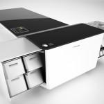Кюхня + обеденный стол = современная мебель трансформер